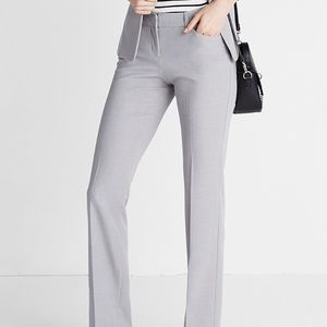 Express Editor Light Gray Dress Pants. Size 00R